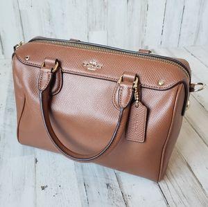 Coach Mini Bennett Camel Brown Classic Handbag